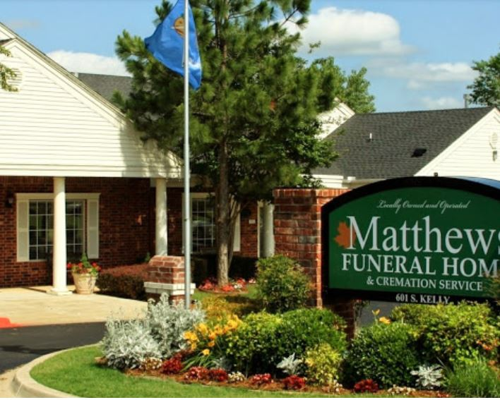 matthews funeral home in edmond, oklahoma