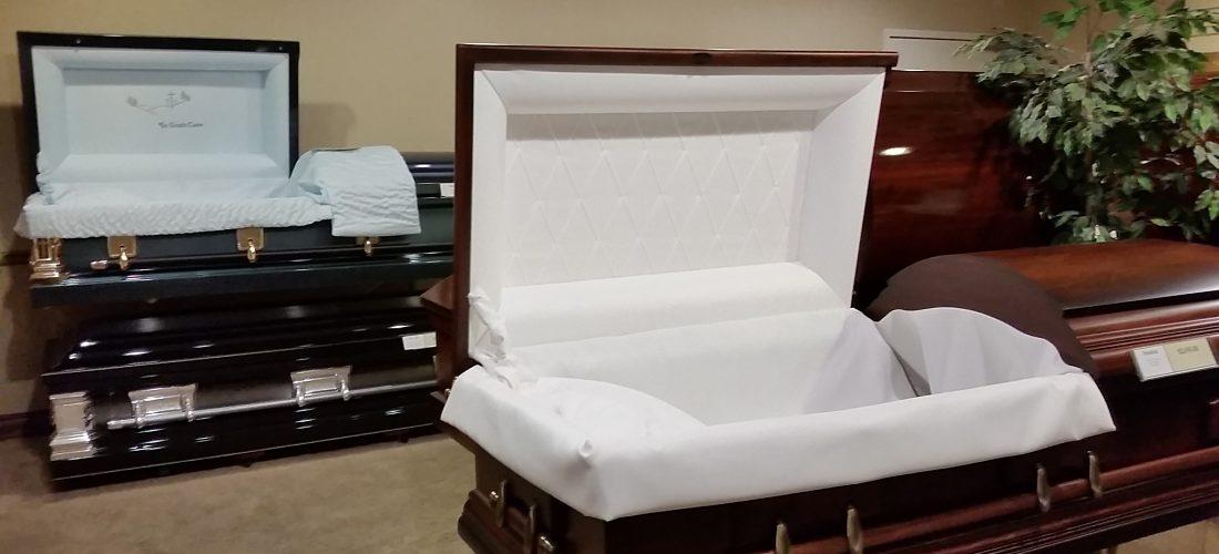 Matthews Funeral Home casket