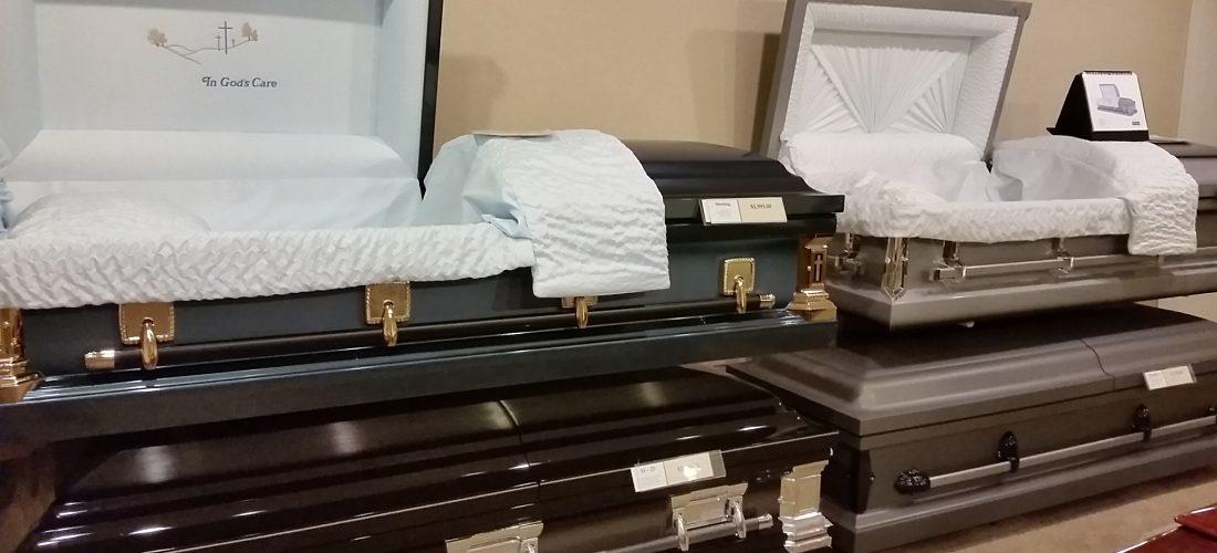 Matthews Funeral Home Casket Room 2
