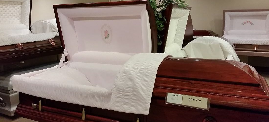 Matthews Funeral Home Casket Room