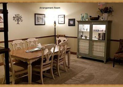 Matthews Funeral Home Arrangement Room