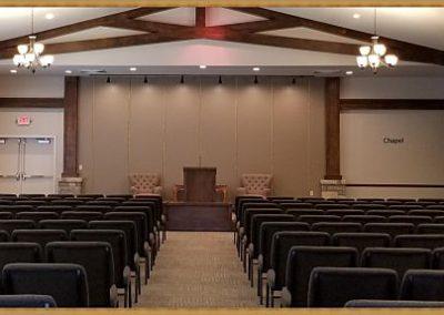 Matthews Funeral Home chapel