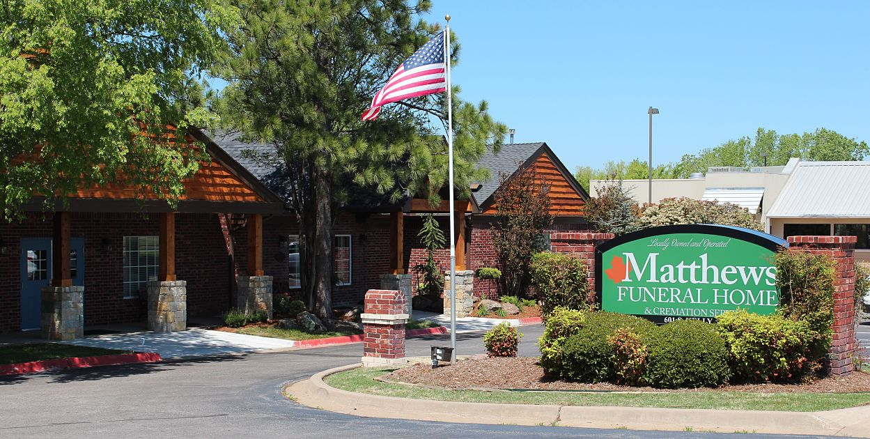 matthews funeral home in edmond, oklahoma